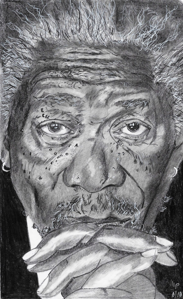 Morgan Freeman por patrick